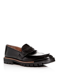Bally - Men's Barox Leather Apron-Toe Penny Loafers