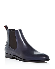 HUGO - Men's Smart Leather Chelsea Boots