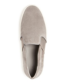 Vince - Men's Fenton Slip-On Perforated Suede Sneakers