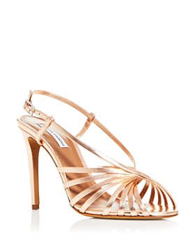 Tabitha Simmons - Women's Jazz Strappy Slingback High-Heel Sandals