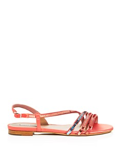Tabitha Simmons - Women's Betty Sequin Ankle-Strap Sandals