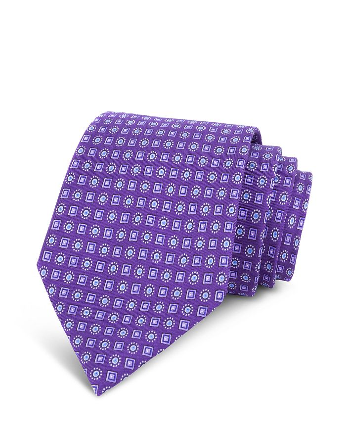 The Men's Store at Bloomingdale's - Micro-Square Silk Classic Tie - 100% Exclusive