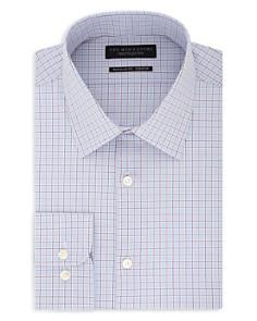 The Men's Store at Bloomingdale's - Grid-Pattern Regular Fit Dress Shirt - 100% Exclusive