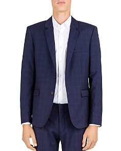 The Kooples - Hidden Lines Wool Slim Fit Sport Coat
