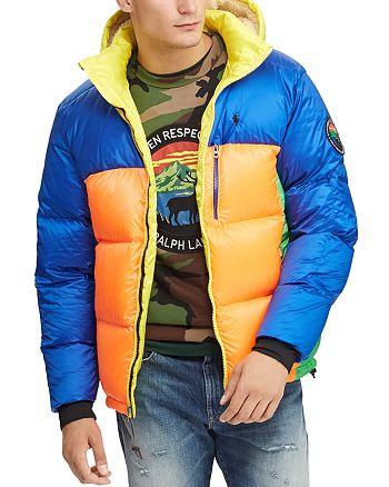 Polo Ralph Lauren - Jackson Color-Block Down Jacket
