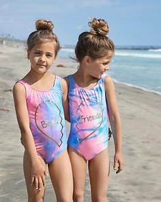 PilyQ - Girls' Best One-Piece Swimsuit - Little Kid, Big Kid