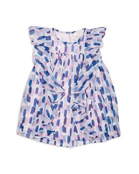 86b6ff568007c kate spade new york - Girls' Ruffled Brushstroke-Print Dress - Little Kid