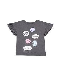 kate spade new york - Girls' Speech-Bubble Top - Big Kid