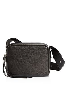 ffa1fa4e81 ALLSAINTS Versailles Lea Shearling   Leather Shoulder Bag ...