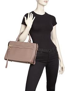 Rebecca Minkoff - Bedford Pebbled Leather Zip Satchel