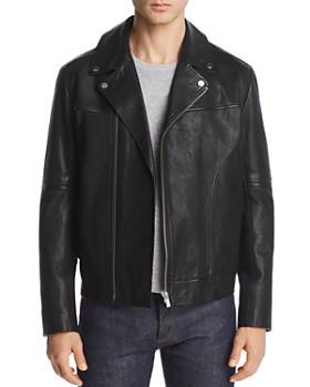 HUGO - HUGO Lovell Leather Moto Jacket, Versus Versace Hoodie & More