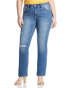 Seven7 Jeans Plus - Rocker Jeans in Ladybird