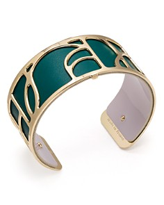 Les Georgettes - Volute Reversible Medium Two-Tone Open Cuff Bracelet