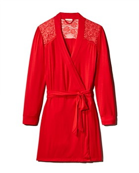 fa0330ae5d5 Eberjey - Noor Cuffed Robe ...