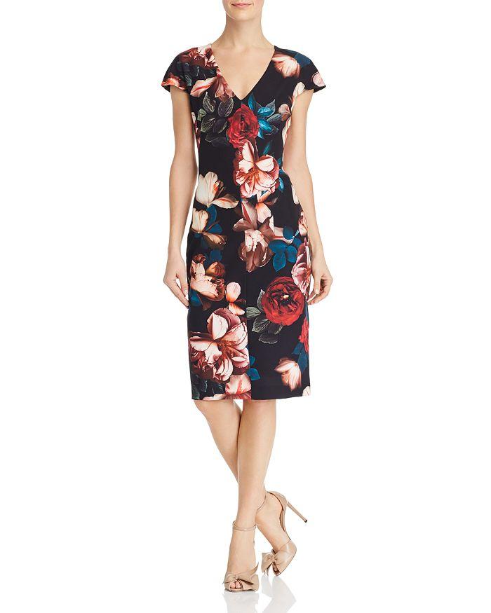 Black Halo - Greyson Floral Dress