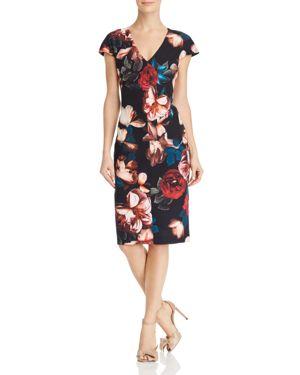 Black Halo Greyson Floral Dress