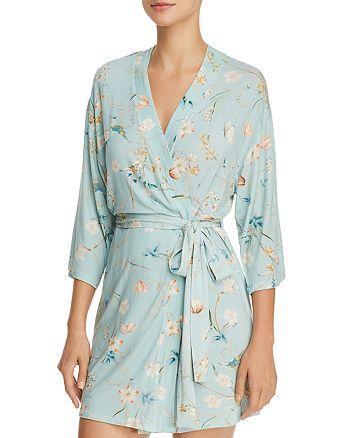 Flora Nikrooz - Tinsley Floral Print Modal Short Robe