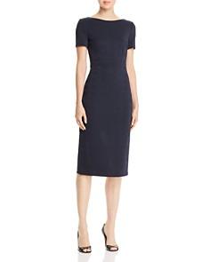 BOSS - Dalula Tonal Plaid Sheath Dress