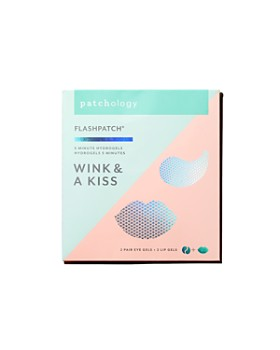 Patchology - Wink & A Kiss FlashPatch® 5-Minute Hydrogels Set