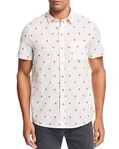 Banks Journal - Short-Sleeve Heart-Print Regular Fit Shirt
