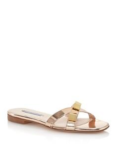 Stuart Weitzman - Women's Cross Studded Sandals