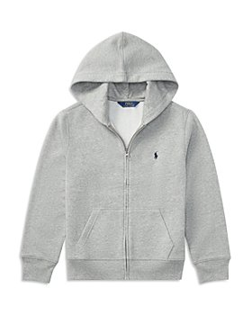 Ralph Lauren - Boys' Fleece Zip Up Hoodie - Little Kid, Big Kid
