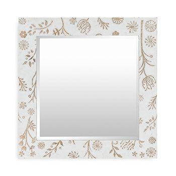 Surya - Heradia Transitional Square Mirror