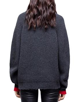 Zadig & Voltaire - Zoe Wy Funnel-Neck Sweater