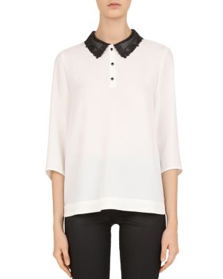 Lisette Peter Pan Collar Blouse by Gerard Darel