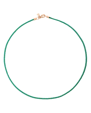 Tous Turquoise Cord Choker Necklace, 15.75