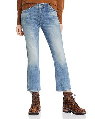 Sale alerts for  The High-Rise Kick Flare Jean in Artisan - Covvet