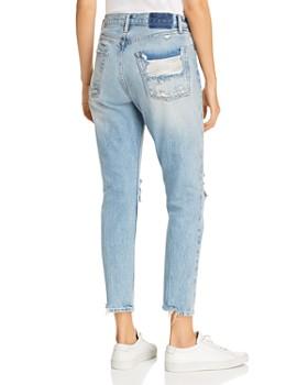 FRAME - Le Original Rigid Re-Release Distressed Skinny Jeans in Watermark