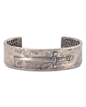 John Varvatos Collection - Sterling Silver Dagger Cuff