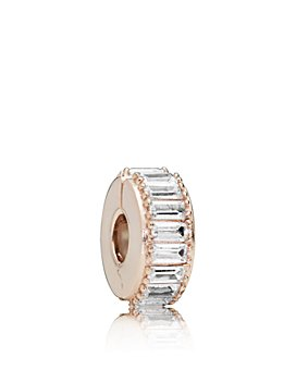 Pandora - Rose Gold Tone Plated Sterling Silver & Cubic Zirconia Ice Formation Charm