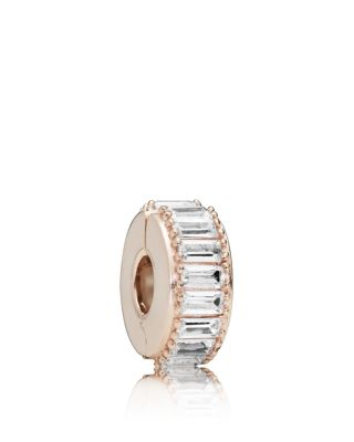 Rose Gold Tone Plated Sterling Silver & Cubic Zirconia Ice Formation Charm by Pandora