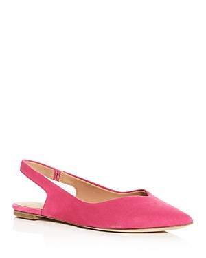 Sigerson Morrison Women's Sunshine Slingback Pointed-Toe Flats