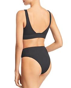 Vitamin A - Sienna Shelf-Bra Bikini Top & High-Waist Bikini Bottom