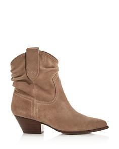 Rachel Zoe - Women's Clay Mid-Heel Western Booties