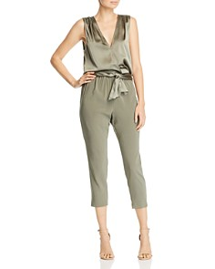 Ramy Brook - Alvina Sleeveless Cropped Jumpsuit