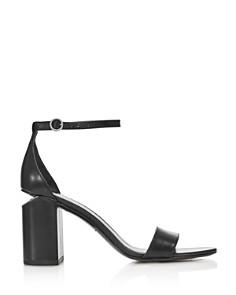 Alexander Wang - Women's Abby Leather Block Heel Sandals