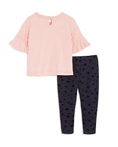 Splendid - Girls' Flutter-Sleeve Shirt & Star Leggings Set - Baby