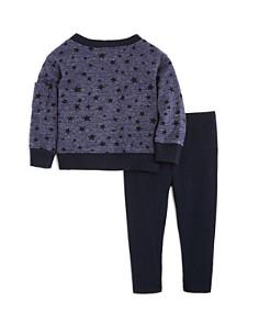 Splendid - Girls' Star Sweatshirt & Leggings Set - Baby