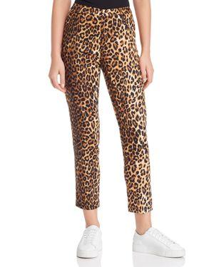LUCY PARIS Nahla Leopard Print Pants