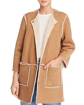 BB DAKOTA - Had Me At Hello Reversible Faux Shearling Coat