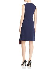 BOSS - Delakety Asymmetric Overlay Dress