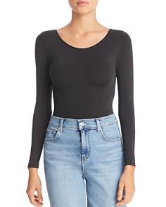 DKNY - Opaque Long Sleeve Bodysuit