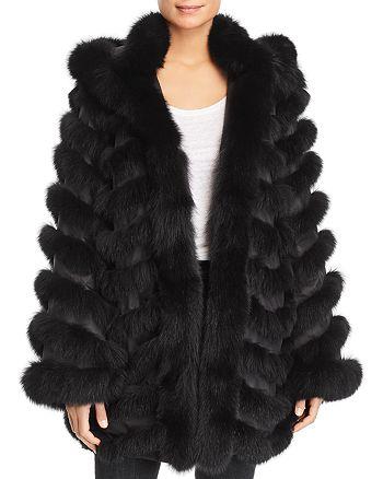Maximilian Furs - Reversible Fox Fur Coat - 100% Exclusive