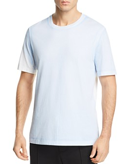 Helmut Lang - Short-Sleeve Color-Block Logo Graphic Tee