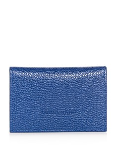 Longchamp - Veau Foulonne Leather Bi-Fold Card Case
