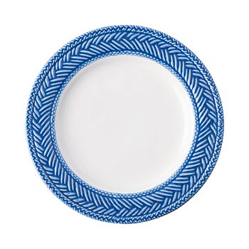 Juliska - Le Panier White/Delft Side/Cocktail Plate
